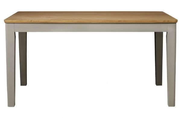 Braemar Grey and Oak Pine Dining Table to Seat up to 6 People